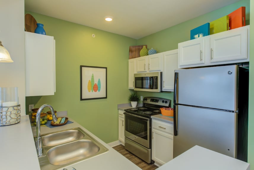 Model kitchen in Fishers